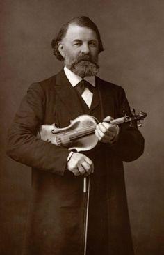 Joseph Joachim Famous Musicians, Vintage Images, Abraham Lincoln, Violin, Ephemera, Joseph, Men, Random, Vintage Pictures