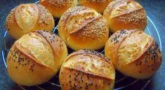 Úžasné domáce dalamánky za babku – nádherne chrumkavé a lahodné! - snadnejidlo Baked Potato, Hamburger, Ale, Potatoes, Bread, Cookies, Baking, Ethnic Recipes, Food