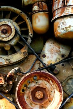 scrap and great colors! Weathered Paint, Ex Machina, Color Studies, Textures Patterns, Decay, Brown Sugar, Circles, Espresso, Abandoned