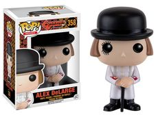 A Clockwork Orange - Alex DeLarge Pop! Not everything goes to plan, now he is a Pop Vinyl. A Clockwork Orange Alex DeLarge Pop! This way we know that you have received your item safely. Pop Vinyl Figures, Funko Pop Figures, Stanley Kubrick, Men In Black, Captain Underpants, Mia Wallace, Pet Sematary, Arthur Curry, Baby Driver
