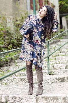 Shush-Mush - http://shush-mush.com/sophia-is-this-you/ flower print dress