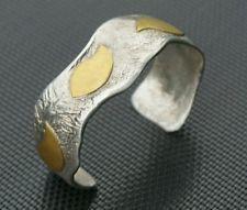 Rare Bjorn Winberg Vintage Norwegian Jewelry Sterling Silver Modernist Bracelet