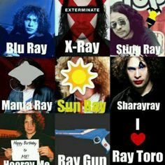 Ray Toro doesn't get enough appreciation but he's awesome<<<So true, but Sharayray I'm laughing so hard XD