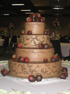 The Cakery Bakery St Louis Wedding Cakes Chocolate
