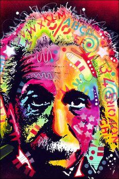 Dean Russo - Einstein - Poster www.trippystore.com/dean_russo_einstein_poster.html