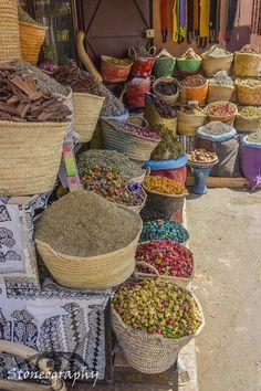 market spices, Marrakesh, Morocco | Kieran Stone