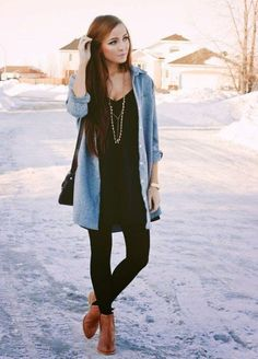 38 Fashionable To Styling Ideas With Leggings