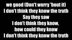 Chris Brown - Don't Think They Know (Lyrics On Screen) ft. Aaliyah