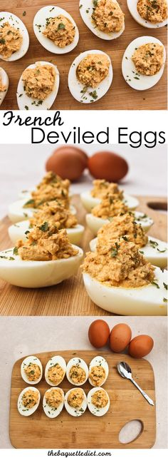 French-style deviled eggs | Easy, healthy oeufs mimosa recipe from The Baguette Diet