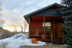 Three very different cabin getaways in the Colorado Rocky Mountains. #HeidiTown