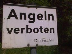 Angeln verboten!!!