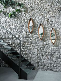 Decorative mirrors for your home, Mamanonmama mirror, Mario Botta, Horm, 2005