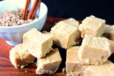 Wake up your taste buds with this Sweet Spicy Cinnamon Fudge. It's not the typical fudge flavor you've seen year after year. Fudge Flavors, Sweet And Spicy, Taste Buds, Cornbread, Feta, Cinnamon, Cheese, Cupcake Ideas, Ethnic Recipes