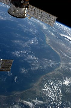 Texas, Gulf of Mexico coast.  KN from space.