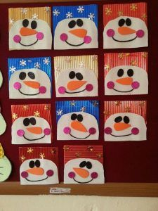 21 Best Christmas Card Craft Idea For Kids Images On Pinterest