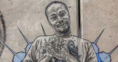 Stunning Wheatpaste works by Brooklyn Artist Swoon in New York. Wheatpaste Street Art, New York Street Art, Linoleum Block Printing, Art Story, Art Sites, Street Artists, New Words, Brooklyn, It Works