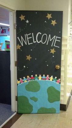 Classroom Door More