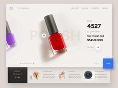 Cosmetic Ui Design