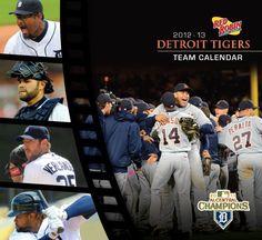 2012-2013 Tigers Calendar