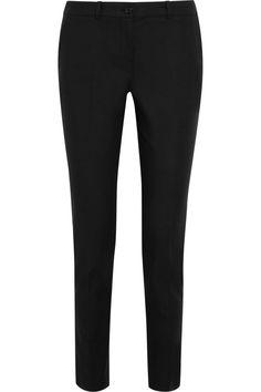 Michael Kors Collection   Pantalon slim en popeline de coton stretch Samantha   NET-A-PORTER.COM