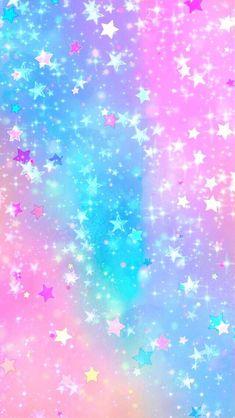 iphone wallpaper stars Kawaii Glitter Stars, made by me Glitter Wallpaper Iphone, Unicorn Wallpaper Cute, Unicornios Wallpaper, Cute Galaxy Wallpaper, Cute Pastel Wallpaper, Rainbow Wallpaper, Cute Wallpaper Backgrounds, Cellphone Wallpaper, Pretty Wallpapers