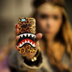 Leopard Shark iPhone Case / You can now make your iPhones (5/5S) portray an unusual combination of two ferocious creatures from the animal kingdom through this Leopard Shark iPhone Case. http://thegadgetflow.com/portfolio/leopard-shark-iphone-case/
