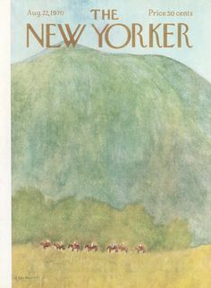 The New Yorker - Saturday, August 22, 1970 - Issue # 2375 - Vol. 46 - N° 27 - Cover by : James Stevenson