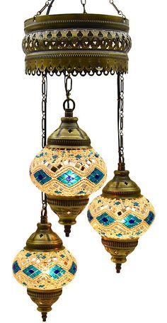 Modern Turkish Hanging Lamps Golden Moroccan Ceiling Lights Home Lantern Gifts 8907033299543 Moroccan Ceiling Light, Moroccan Chandelier, Glass Chandelier, Chandelier Lighting, Moroccan Lighting, Antique Light Fixtures, Antique Lighting, Hookah Lounge Decor, Home Lanterns