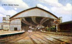 Temple Meads Bristol Uk, Mead, Old English, Vintage Postcards, Opera House, Temple, The Past, Louvre, Building