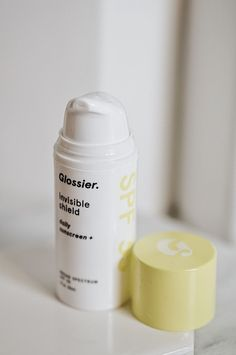 Glossier Sunscreen - Invisible Shield | Review, First Impressions, & Discount