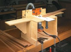 50 best router tables accessories images on pinterest tools router table mortiser edge jointer this compact easy to build greentooth Images