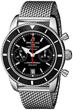 Breitling Mens A2337024BB81 Stainless Steel Automatic Watch *** Check out this great product.
