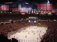 Cannot wait to attend a game March with my best friends. Joe Louis Arena, Red Wings Hockey, Detroit History, Detroit Sports, The Joe, Season Ticket, Go Red, Football And Basketball