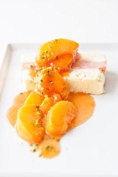 Sparkling Peach Semifreddo... wtf!