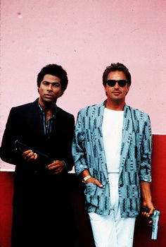 'Miami Vice' may be coming back with a reboot series. Here's how to emulate the show's iconic South Beach style. 80s Fashion Men, Look Fashion, Fashion Outfits, Celebrities Fashion, Fashion History, Pamela Des Barres, Melanie Griffith, Miami Vice Outfit, Miami Vice Costume