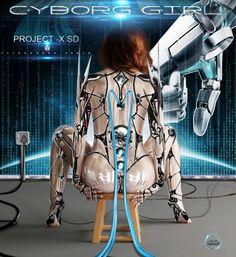 Science fiction photography inspiration 44 Ideas for 2019 Cyberpunk Girl, Arte Cyberpunk, Cyberpunk Character, Cyberpunk 2077, Alita Battle Angel Manga, Cyborg Girl, Character Art, Character Design, Futuristic Art