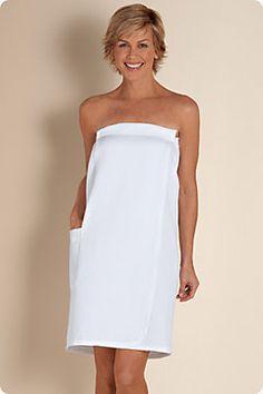 8556b650ef Women s Toweling Off Wrap - Shower Wrap