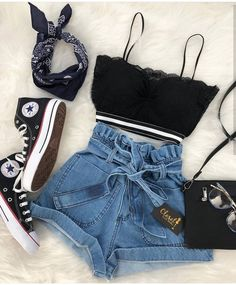 teenager outfits for school ; teenager outfits for school cute ; Teen Fashion Outfits, Mode Outfits, Cute Fashion, Outfits For Teens, Girl Outfits, Fashion Ideas, Teen Fashion Style, Teen Fashion Tumblr, Club Outfits