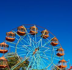 the ferris wheel in blue sky City Architecture, Yahoo Images, Free Stock Photos, Image Search, Ferris Wheels, Fair Grounds, Sky, Pictures, Blue