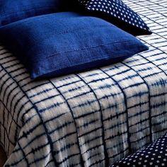 Decorate: African Indigo Textiles in Interiors #Africantextiles