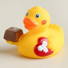 Valentine's Day Rubber Duck Bath Toy | World Market