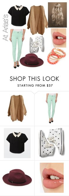 """""""At Arias's"""" by luis2002 ❤ liked on Polyvore featuring CJ by Cookie Johnson, Keds, Mulberry and Charlotte Tilbury"""