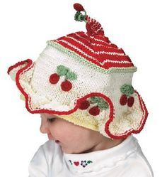 Items similar to Knit Baby Hat Knit Toddler Hat Cotton Cap Baby Hat Knitted Baby  Hat Hand Knit Toddler Cotton Hat Cherry Baby Hat Hand Knit Cotton Cap Knit  ... dbb9cce2dca7
