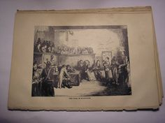 ★¸¸.•50 Sheets Of 1870 Paper-Charles Dickens-Plus 4 Illustrations!*¨*•✩
