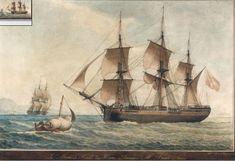 """""""La 'Mère de Famille' du Havre, Armateur M. Achard Neveu"""", by Antoine Roux père, Marseille."""