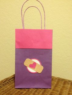 Doctor party favor bag. by TBcraft06 on Etsy