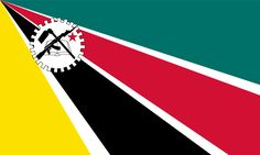 Flag of Mozambique (1975-1983).svg > Bandeira de Moçambique (1975-1983).