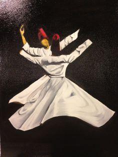 Sufi dancers by Ashita