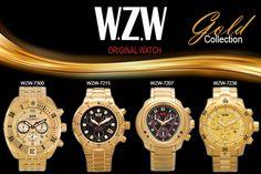 Relógios Sofisticados com alto padrão de qualidade. Conheça todos os nossos modelos através do nosso site: www.wzwrelogios.com.br
