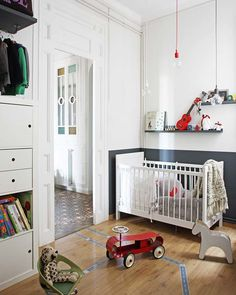 20 Friendly and Modern Nursery Room Design Ideas